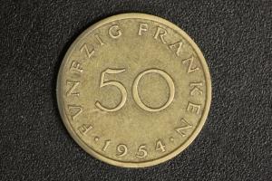 50 Franken 1954