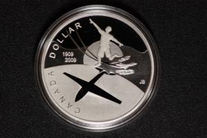 1 $ Canada 2009 Erster Flug PP