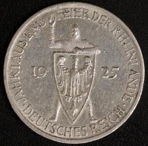 5 M. Rheinlande 1925 F