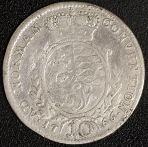 10 Kreuzer 1766
