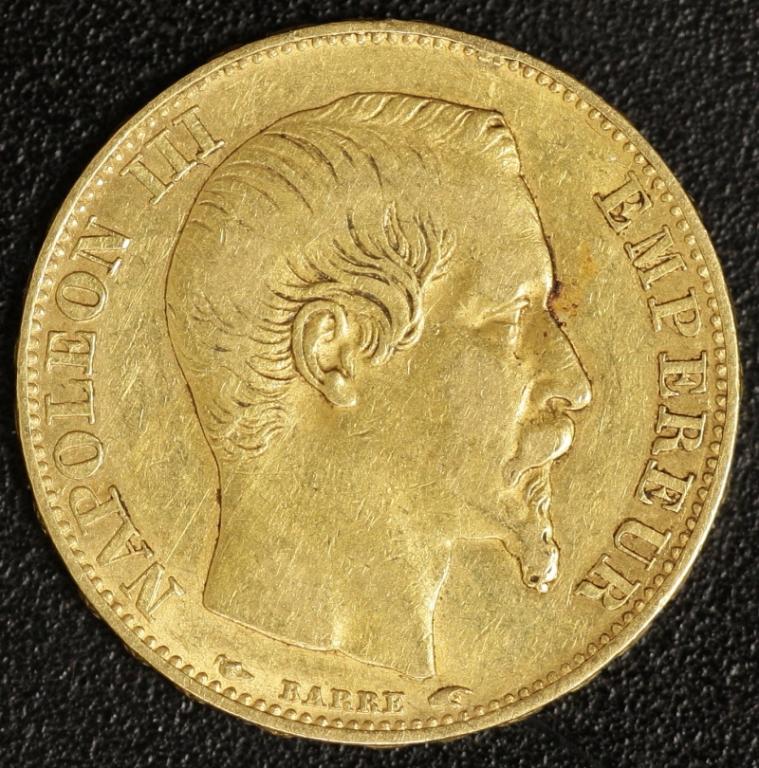 20 Fr 1854 Napoleon Iii