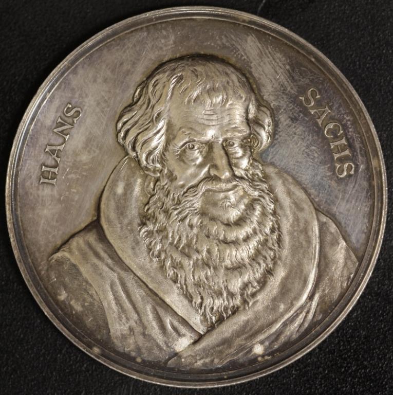 Ag Med 1894 Hans Sachs