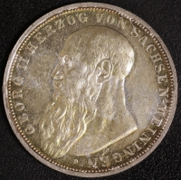 3 Mark Georg II 1908 vz