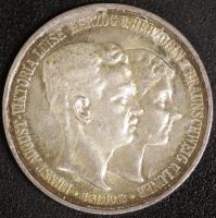 3 Mark Regierungsantritt 1915 mit Lüneb.