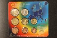 Kursmünzensatz 2003