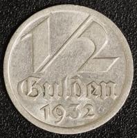 1/2 Gulden 1932