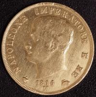 40 Lire 1814 Napoleon