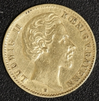 10 Mark Ludwig II 1874