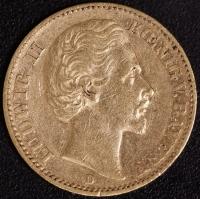 20 Mark Ludwig II 1872
