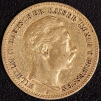 10 Mark Wilhelm II 1890