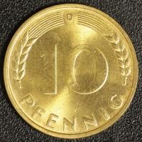 10 Pfennig BDL 1949 D