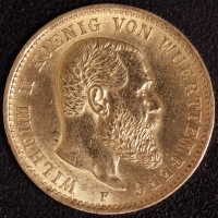 20 Mark Wilhelm II. 1905