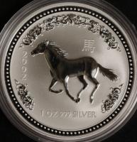 2002 Pferd - 1 Oz Lunar I