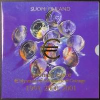 Kursmünzensatz 1999 2000 2001 Finnland