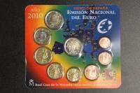 Kursmünzensatz 2010 Spanien