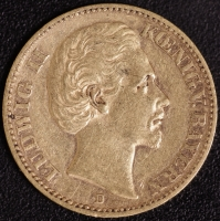 20 Mark Ludwig II 1873