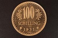 100 Schilling 1931 Gold