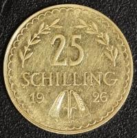 25 Schilling 1926 Gold