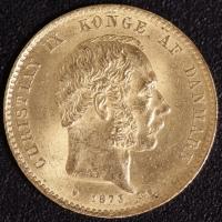 Dänenmark 20 Kronen Christian IX