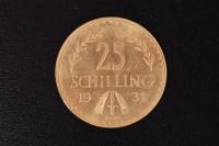 25 Schilling 1931 Gold