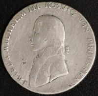 Reichstaler 1801 Fried. Wilh. III