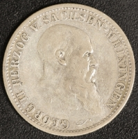 2 Mark  Georg II, 1901