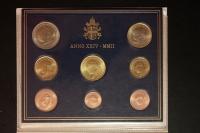 Kursmünzensatz 2002 Vatikan st