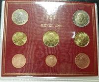 Kursmünzensatz 2008 Vatikan st