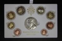 Kursmünzensatz 2010 Vatikan PP