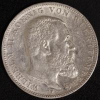 3 Mark Wilhelm II (Wü) 1908-14