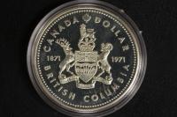 1 $ Canada 1971 Brit. Columbia PL