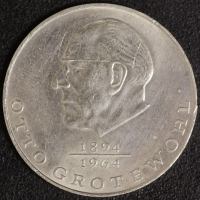 Grotewohl 20 Mark 1973