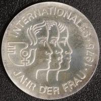 5 Mark Int. Jahr der Frau 1975