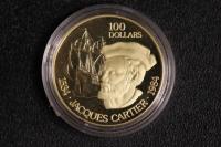 100 $ Canada 1984 Cartier