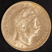 20 Mark Wilhelm II 1905 J
