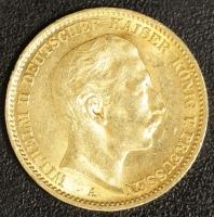 20 Mark Wilhelm II 1910 A