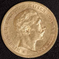 20 Mark Wilhelm II 1898