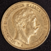 20 Mark Wilhelm II 1895