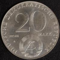 30 Jahre DDR 20 Mark 1979 Probe
