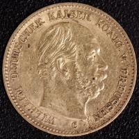 5 Mark Wilhelm I 1877 C