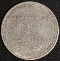 Doppelgulden Johann 1848 ss