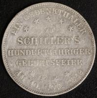Gedenktaler Schiller 1859 ss