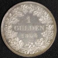 Gulden 1854 st