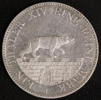 Ausbeutetaler 1855 ss