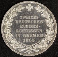 Gedenktaler Bundesschiessen 1865 fast st