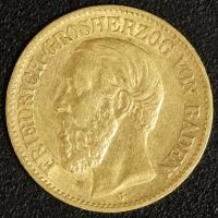 10 Mark Friedrich 1875
