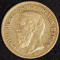 10 Mark Friedrich 1878