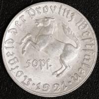 50 Pfennig 1921 vz