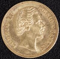 5 Mark Ludwig II 1877 vz