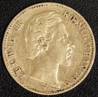 10 Mark Ludwig II 1873 ss